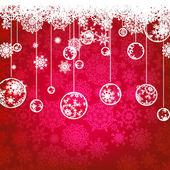 Christmas card, winter holiday. EPS 8 — Stock Vector