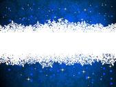 雪のクリスマスの背景。eps 8 — ストックベクタ
