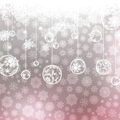 Christmas background with snowflakes. EPS 8 — Stock Vector
