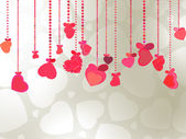 Elegant Valentine's or wedding illustration. EPS 8 — Stock Vector