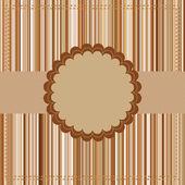 Plantilla de tarjeta de felicitación. eps 8 — Vector de stock
