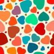 Hearts seamless Background. EPS 8 — Stock Vector #47958351