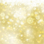 Elegant gold christmas background. EPS 8 — Stock Vector