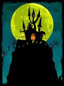 Halloween poster background. EPS 8 — Stock Vector
