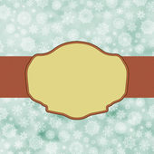 Blue vintage christmas background. EPS 8 — Stockvector
