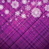 Fond violet de noël. eps 8 — Vecteur