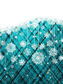 Blue abstract christmas background. EPS 8 — Cтоковый вектор
