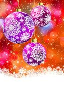 Merry christmas card. EPS 8 — Stock Vector