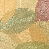 Suchą jesień liście szablon. eps 8 — Wektor stockowy