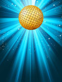 Abstract disco party lights background. EPS 8 — Stock Vector
