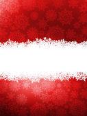 Elegant red christmas background. EPS 8 — Stock Vector