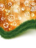 Holiday card. Christmas. EPS 8 — Stock Vector