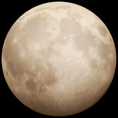 Full Moon, taken on 13 July 2014. EPS 10 — Vector de stock