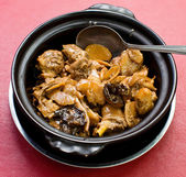 Chinese style claypot chicken — Stockfoto