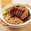 Duck noodle. food asia — Stock Photo #31908221