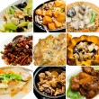 Collection chinese asian food — Stock Photo #31908517
