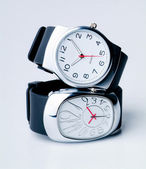 Watch isolated over a white backgtound — Stock Photo