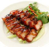 Chinese style BBQ pork — Stock Photo