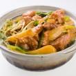 Pork. chinese cuisine asia food — Stock Photo