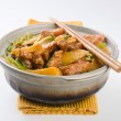 Stock Photo: Pork. chinese cuisine asia food