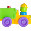 Stock Photo: Baby car, Baby toy car on background