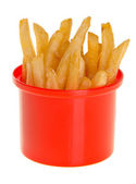 French Fries on background — Stock Photo
