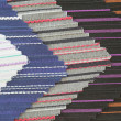 Stock Photo: Multi color fabric texture samples