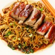 Duck noodle. food asia — Stock Photo #34211137