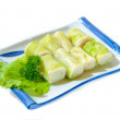 Stock Photo: Sushi Roll on Plate