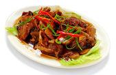 Chinese food chicken — Stock Photo