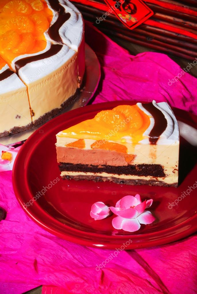 Download New Year Cake Images : Chinese new year orange cake   Stock Photo ? heinteh #34958365