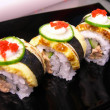 Japanese food. japanese food collection — Stockfoto