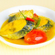 Assam fish - spicy and sour taste — Stock Photo