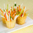 Spring Roll on background — Stock Photo #35005309