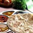 Roti canai, roti tisu, south indian fried bread — Stock Photo