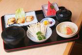 Japonský bento oběd sada — Stock fotografie