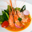 Thai Food Tom Yum seafood asia food — Stock Photo