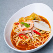 Prawn noodle - Malaysian food spicy noodles — Stock Photo #35068547