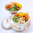 Mixed Nuts in a Bowl — Stock Photo