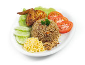 Fried rice. Part of a series of nine Asian food dishes. — Stock Photo