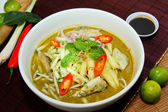Laksa is traditional food in Malaysia — Stock Photo