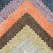 Multi color fabric texture samples — Stock Photo #35107339