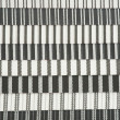 Textured Striped Cotton Fabric Swatch — ストック写真