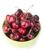 Fresh cherry berry on background — Стоковое фото