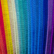 multi color fabric texture samples — Stock Photo #35110747