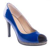 Buty. buty kobieta na tle — Zdjęcie stockowe