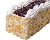 Cake, Ice-cream cake on background — Stock Photo