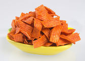 Junk food on background — Stock Photo
