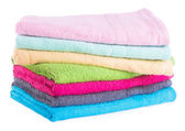 Towel. towel on a background — Stock Photo