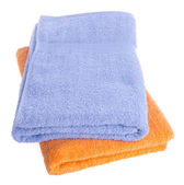 Towel, towel on background. — Stock Photo